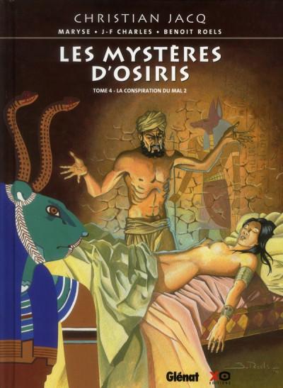 image de les mystères d'Osiris tome 4 - la conspiration du mal