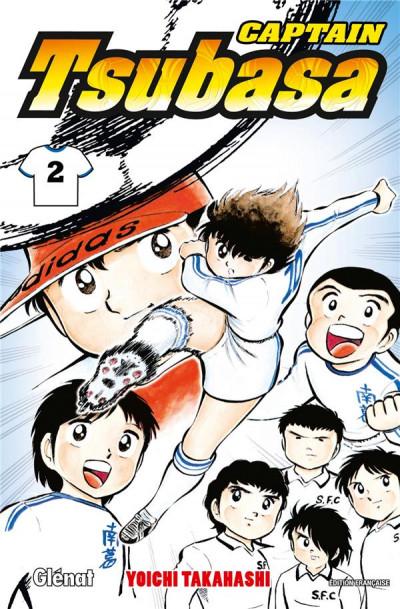 Couverture captain Tsubasa tome 2
