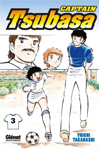 Couverture captain Tsubasa tome 3