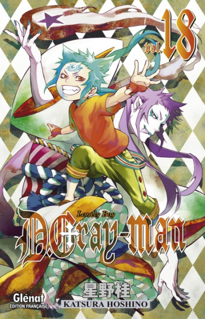 Couverture d.gray-man tome 18 - lonely boy