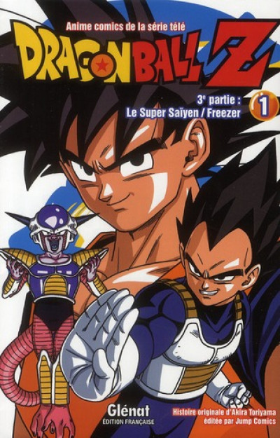 Couverture dragon ball z - cycle 3 tome 1