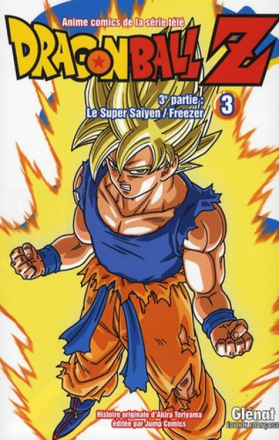 Couverture dragon ball Z - cycle 3 tome 3