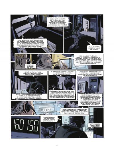Page 2 le triangle secret - les gardiens du sang tome 3 - le carnet de Cagliostro