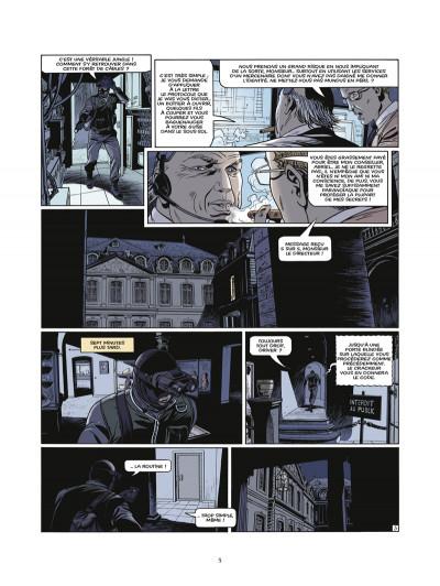 Page 3 le triangle secret - les gardiens du sang tome 3 - le carnet de Cagliostro