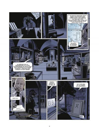 Page 4 le triangle secret - les gardiens du sang tome 3 - le carnet de Cagliostro