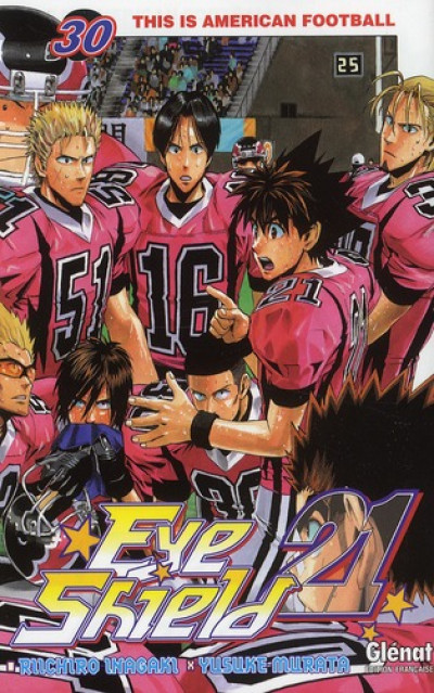 Couverture eye shield 21 tome 30 - This is American Football