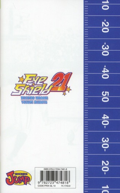 Dos eye shield 21 tome 30 - This is American Football