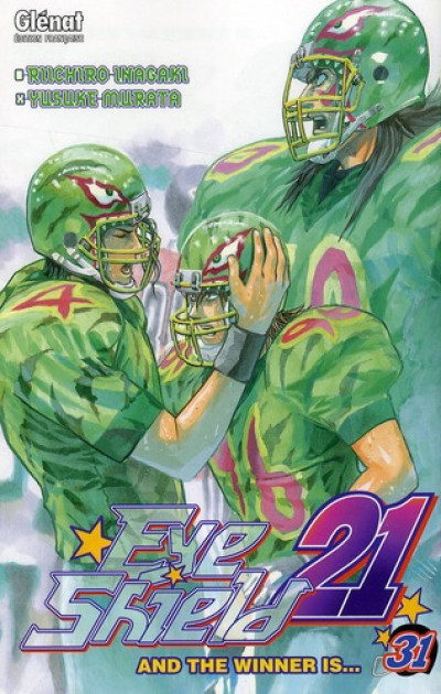 Couverture eye shield 21 tome 31 - And the winner is…