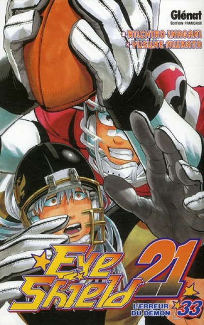 Couverture eye shield 21 tome 33