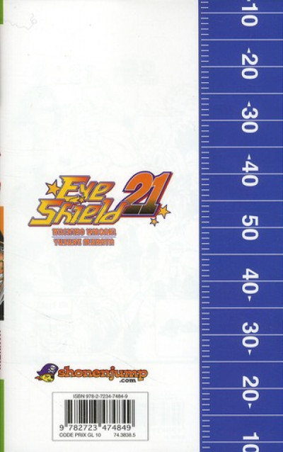 Dos eye shield 21 tome 33