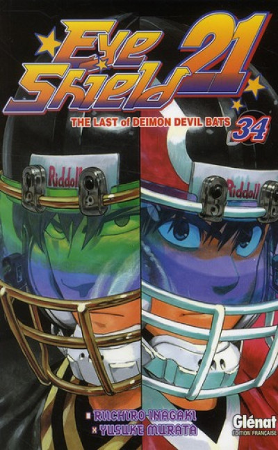 Couverture eye shield 21 tome 34