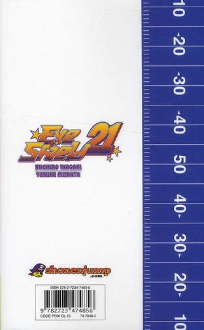 Dos eye shield 21 tome 34