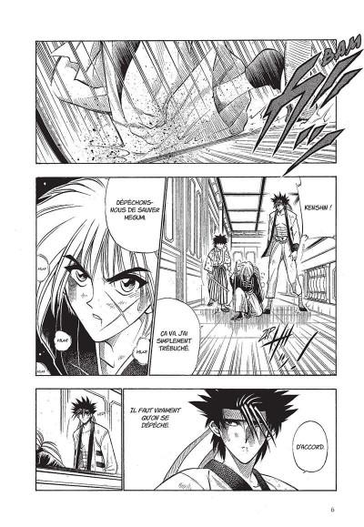 Page 7 Kenshin le vagabond - perfect edition tome 4