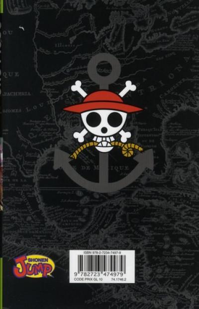 Dos One Piece tome 53 - la constitution souveraine