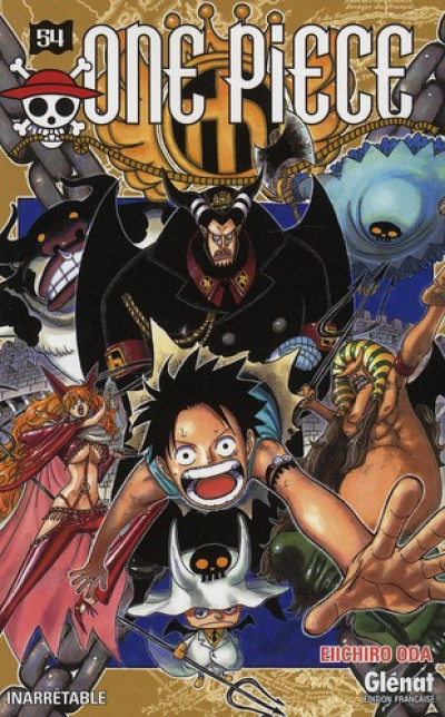 Couverture one piece tome 54 - inarrêtable