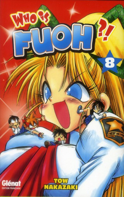 Couverture who is fuoh ?! tome 8