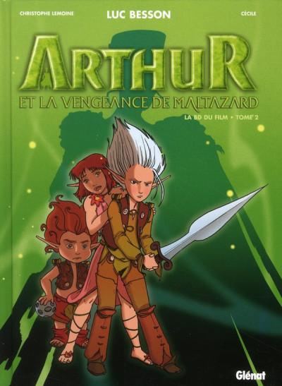 Couverture arthur et les minimoys - arthur et la vengeance de maltazard tome 2