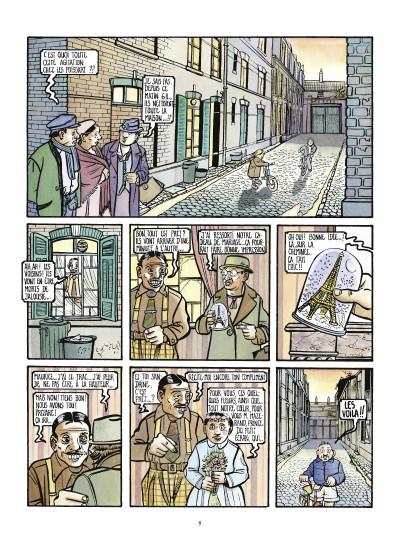 Page 1 la saga des poissarts ; genèse