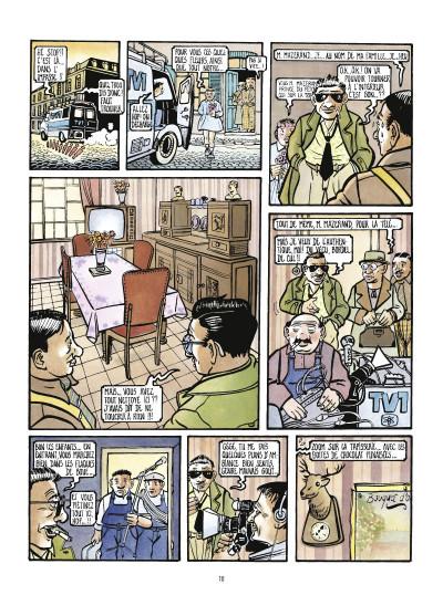 Page 2 la saga des poissarts ; genèse