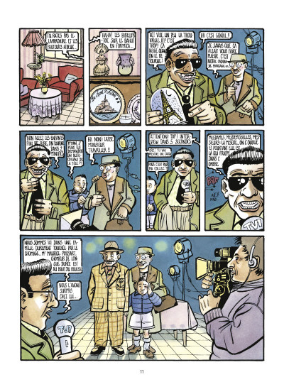 Page 3 la saga des poissarts ; genèse