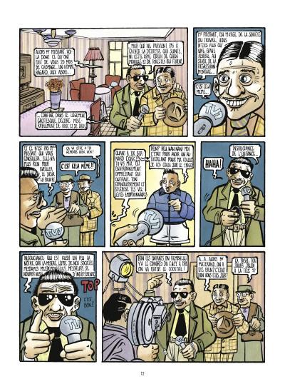 Page 4 la saga des poissarts ; genèse