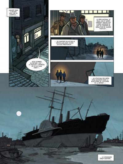 Page 1 spécial branch tome 1 - l'agonie du Léviathan