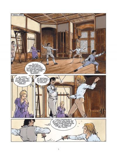 Page 1 Les pirates de Barataria tome 3