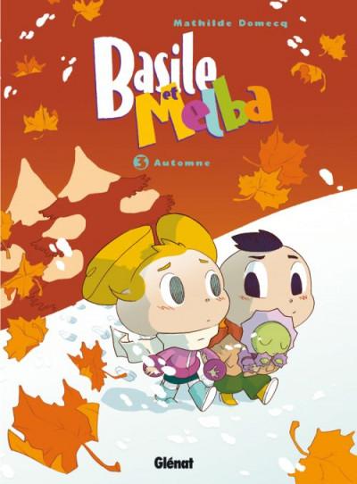 Couverture Basile et Melba tome 3 - automne
