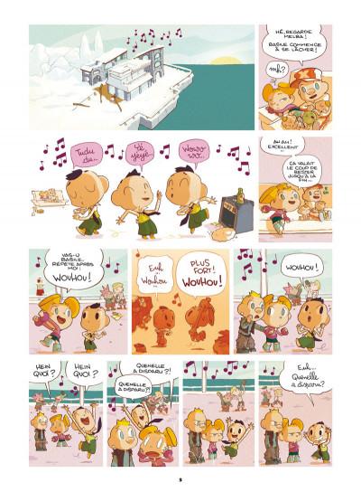 Page 1 Basile et Melba tome 3 - automne