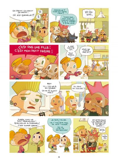 Page 2 Basile et Melba tome 3 - automne