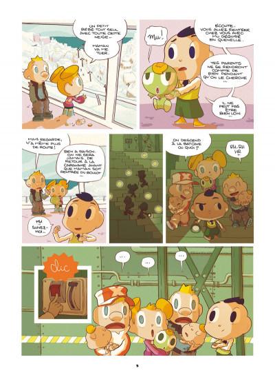 Page 3 Basile et Melba tome 3 - automne