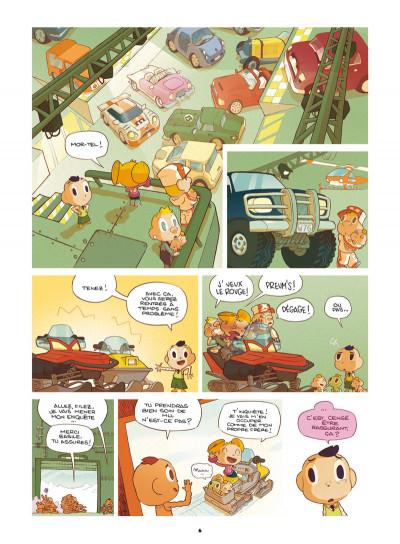 Page 4 Basile et Melba tome 3 - automne