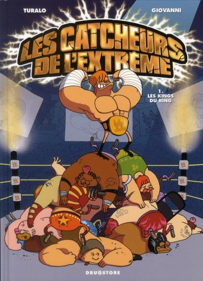image de les catcheurs de l'extrême tome 1 - les kings du ring