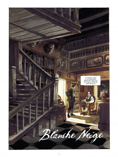 Page 2 à l'origine des contes ; Blanche Neige