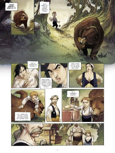 Page 4 à l'origine des contes ; Blanche Neige