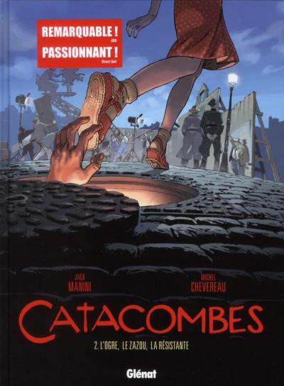 image de catacombes tome 2 - l'ogre, le zazou, la résistante