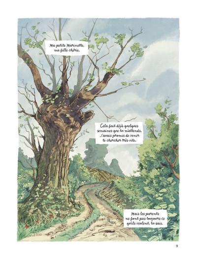 Page 1 les souvenirs de Mamette T.2 - le chemin des écoliers