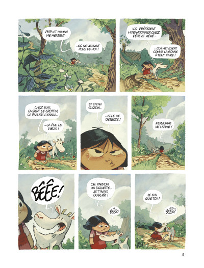 Page 3 les souvenirs de Mamette T.2 - le chemin des écoliers