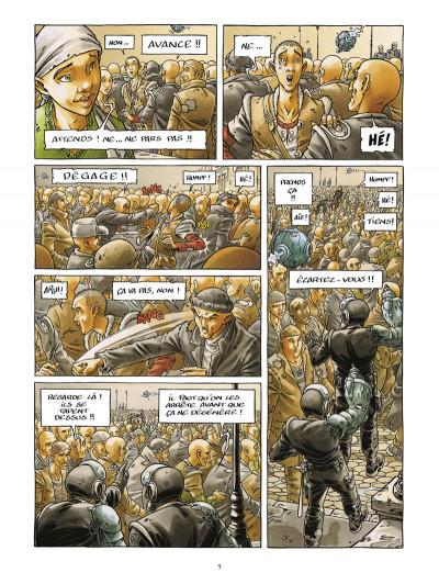 Page 3 la cité de l'arche tome 2 - ville tombe