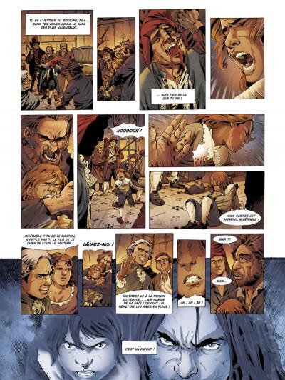 Page 2 le dauphin, héritier des ténèbres tome 1 - l'enfant du temple