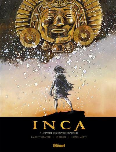 Couverture Inca tome 1 - l'empire des quatre quartiers