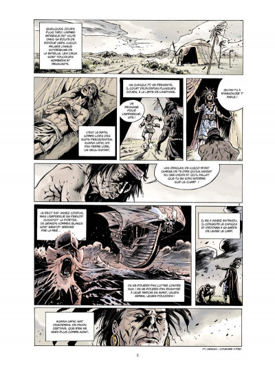 Page 3 Inca tome 1 - l'empire des quatre quartiers