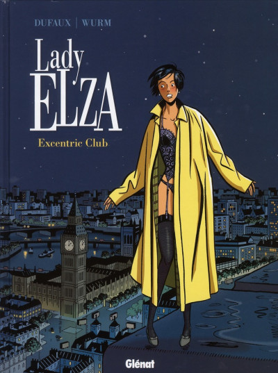 Couverture Lady Elza tome 1