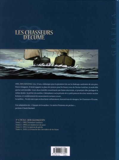 Dos Les chasseurs d'écume tome 1