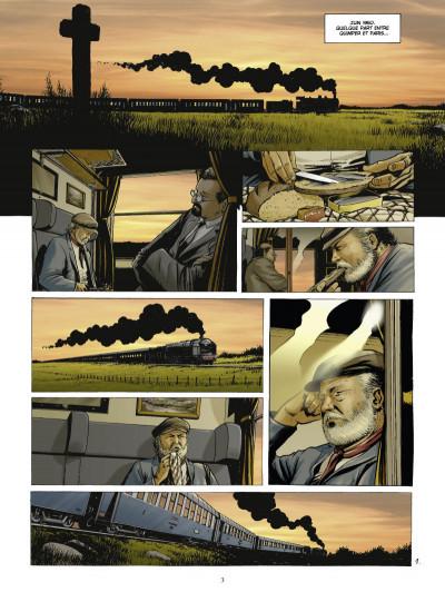 Page 1 Les chasseurs d'écume tome 1