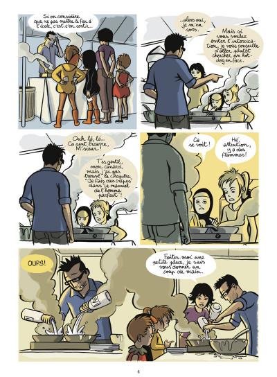 Page 2 les quasi tome 1 - un peu, beaucoup, passionnément