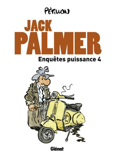 Couverture Jack Palmer ; enquêtes puissance 4