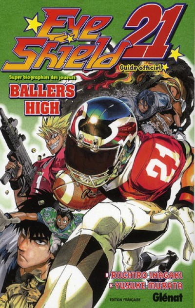 Couverture eye shield 21 ; ballers high ; guide book