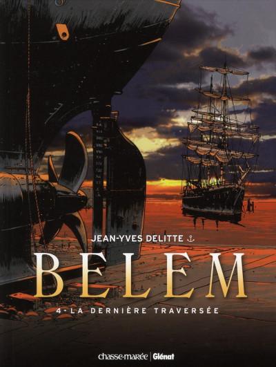 Couverture Belem tome 4 - la dernière traversée