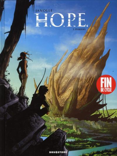Couverture H.O.P.E. tome 3 - hybrides